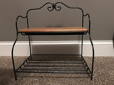 Longaberger Wrought Iron Bakers Rack