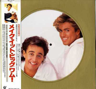 George Michael / Wham - Make It Big Lp Picture Disc Vinyl Japan Original 1984