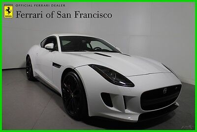 2015 Jaguar F-Type R Excellent Condition, Inspected by Ferrari SF 2015 R Used 5L V8 32V Automatic Rear-wheel Drive Coupe Premium