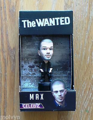 Celebz Mini Figure The Wanted - Max, 2011 Vivid Toy Group, Boxed