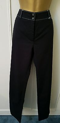 Womens Navy Gelco trousers size 14
