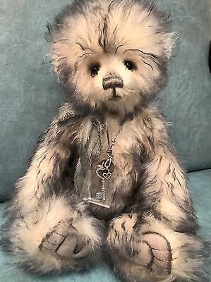 Charlie Bears - Lazybones From The Secret Cupboard Collection Ltd Edition Mohair