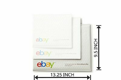 "10 PCS Large eBay Branded Airjacket Envelopes 9.5"" x 13.25"" - Shipping Supplies"