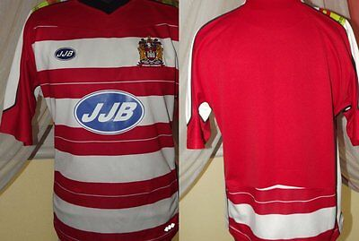 ~ 2007 Wigan Warriors Rugby Home Shirt (L) Jersey Trikot Camiseta Maglia Maillot
