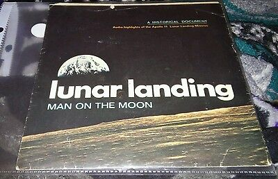 lunar landing man on the moon record