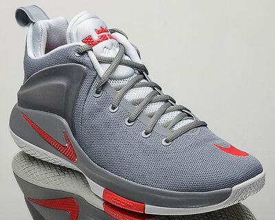48c1a28982f9 Nike Zoom Witness Lebron men basketball shoes NEW cool grey red 852439-005