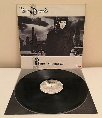 THE DAMNED PHANTASMAGORIA VINYL LP UK 1ST PRESS MCF 3275 Pro Cleaned & Played