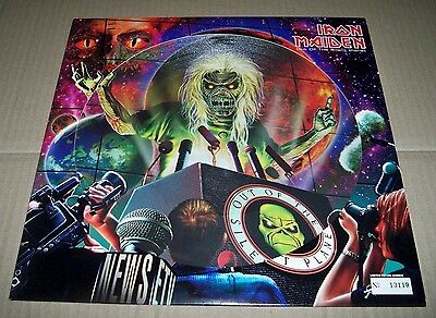 "IRON MAIDEN - Out of The Silent Planet - 12"" Numbered PICTURE DISC - 2000 - MINT"