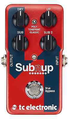 TC Electronic Sub `N` Up Octaver Pedal IN STOCK FAST SHIP