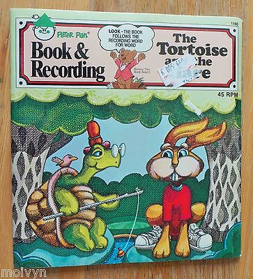 Vintage New The Tortoise & the Hare Book and Record Peter Pan