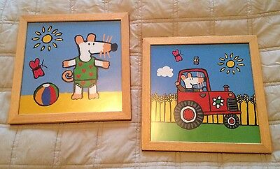 Maisy Mouse Framed Pictures