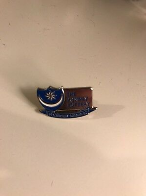 Portsmouth FC  Pompey Lottery Pin Badge