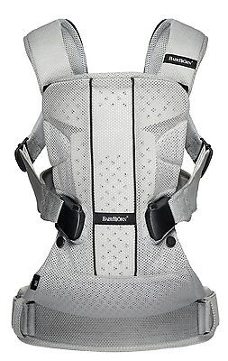 BABYBJORN Baby Carrier One - silver  Mesh, Cotton Mix.. NEWEST Style