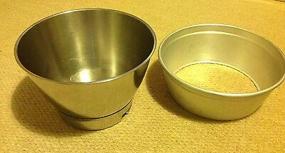 Kenwood Chef Mixing Bowl Stainless Steel And Sleeve