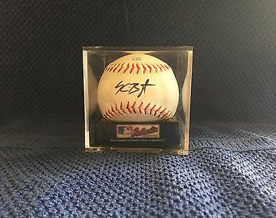 Kris Bryant Autographed Baseball- Guaranteed Authentic  - Cubs