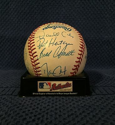 Autographed 1993 World Series Champion Toronto Blue Jays Baseball -23 Signatures