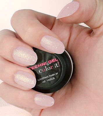 Gel UV & LED Ongles - Scintillant Nude or 146928 - Peggy Sage -
