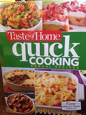 Taste of Home Quick Cooking Annual Recipes by Taste of Home new cookbook