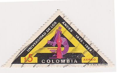 (COA-291) 1964 Colombia 5P air university of the Andes