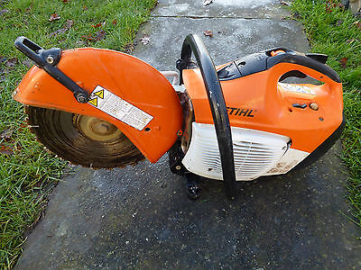 Stihl Ts410 Petrol Disc Cutter In Very Good Condition