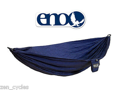 NEW! ENO® Eagles Nest Outfitters Single ProNest Hammock w/Carabiners! $65 MSRP