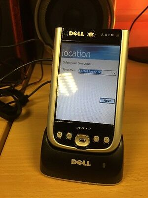 Dell X51v PDA with case and original dock and charger