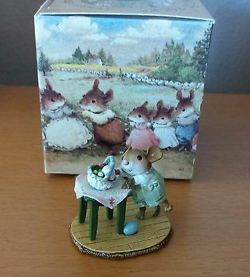 "Wee Forest Folk M-408 ""Tippy Basket"" Mint"