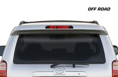 Toyota 4Runner Brake Light Graphic Vinyl Decal Sticker Decal Accessory OFF ROAD