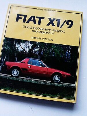 Fiat X1/9 Osprey Auto History - Excellent Condition