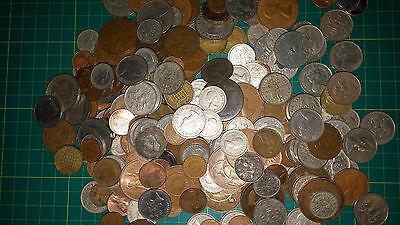 Job lot of British and world coins