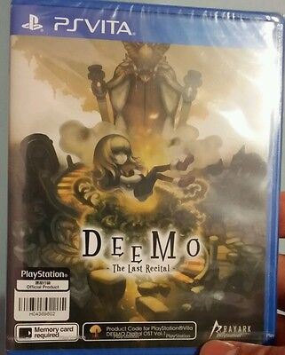 Deemo The Last Recital Ps Vita Asia R3 English rare. New / neuf. Sealed / scellé