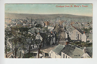 Cardiganshire: Cardigan from St. Mary's Tower - Clough & Son PC PU 191? (718)