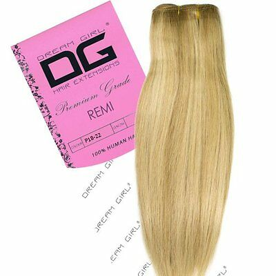 "Dream Girl: 45,72 cm (18"") 18/22 Remi Weft Hair extension"