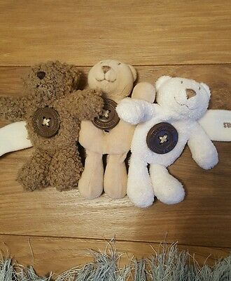 mamas and papas teddy cot toy