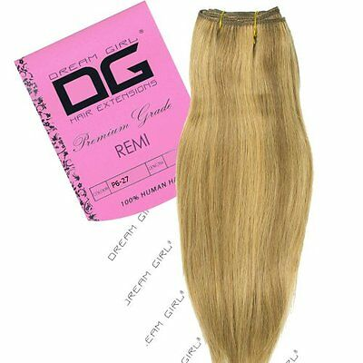 "Dream Girl 40,64 cm (16"") colore 627 Remi Weft Hair extension"