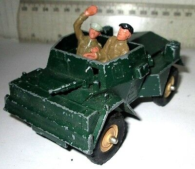 Dinky Toy  Same Size Britains Daimler Scout Car