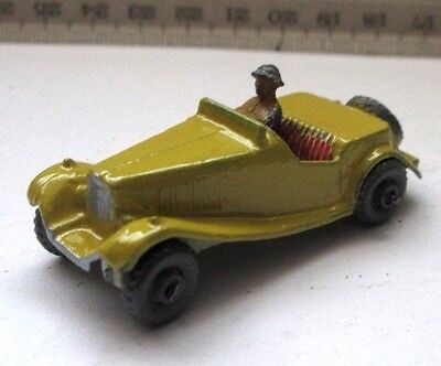 MATCHBOX LESNEY MG Roadster sports car 19 + driver
