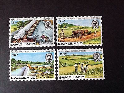Swaziland 1973 Natural Resources Full Set Unmounted Mint