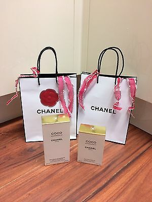 Genuine Empty Chanel Boxes Complete With Chanel Bags