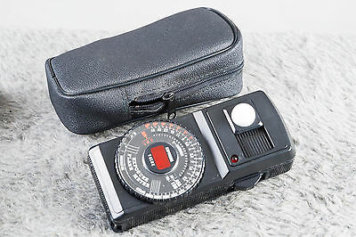 Spiratone Expotrol Ambient and Flash Meter w/case  Tested/Guaranteed
