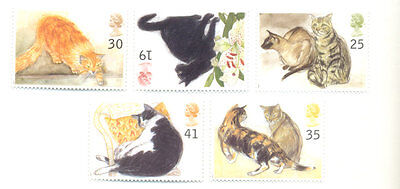 Great Britain Cats set mnh