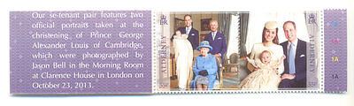 Alderney-Royal Christening-Prince George mnh