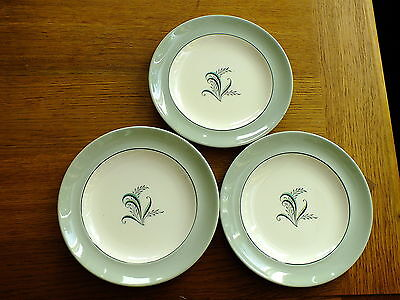 Vintage Copeland Spode Olympus Tea /side / Bread & Butter Plates X 3