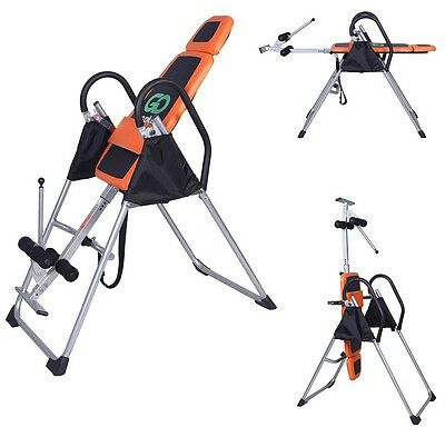 Foldable Premium Gravity Inversion Table Back Therapy Fitness