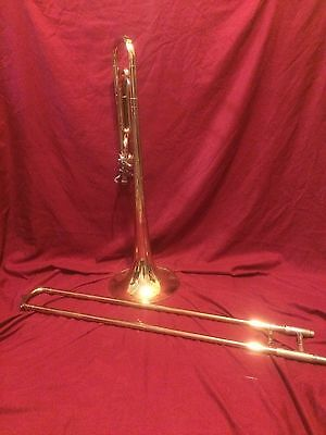 Conn 50H Director Trigger Trombone W hard case, NO RESERVE AUCTION