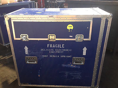 """STORAGE TRAVEL CASE TRADE SHOW ANVIL  51.5"""" x 46.5"""" x 26"""" ELECTRONIC MUSICAL"""