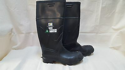 Steel Toed Rubber Boots-Size 9