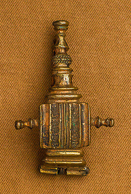 Roman Bow Brooch with lines - TB17
