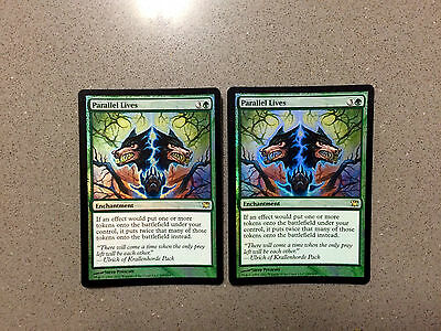 2x FOIL Parallel Lives Innistrad Magic The Gathering MTG