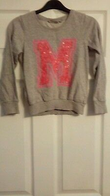 girls grey sweater age 8 years from next